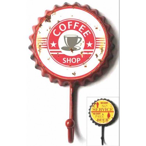 Patères capsule vintage coffee