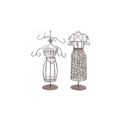 Porte bijoux Mannequin en fer