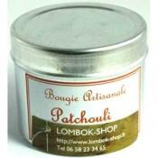 Bougies huiles essentielles boite alu