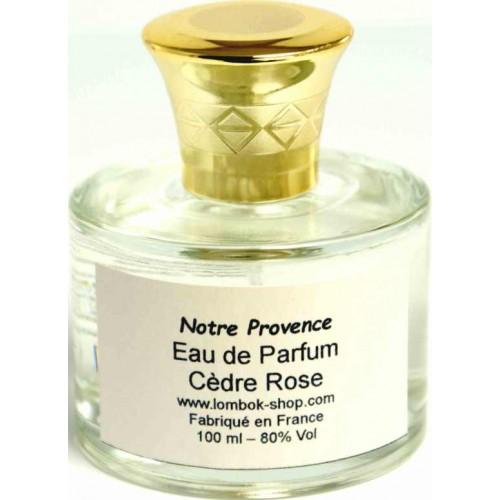 Eau de parfum Cèdre Rose