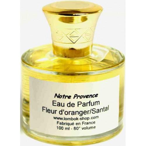 Eau de parfum fleur d'Oranger santal