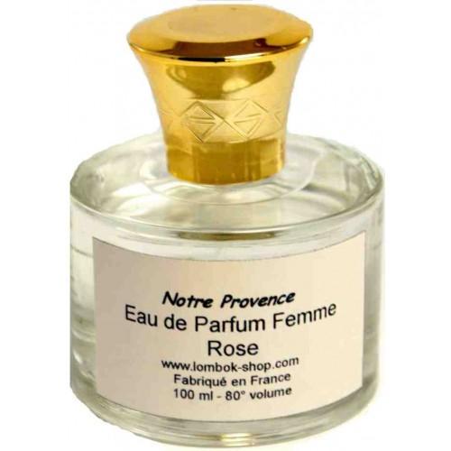 Eau de parfum rose 100 ml