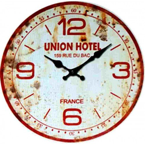 Horloge murale rue du bac
