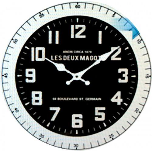 Horloge murale les deux magots