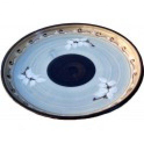 Assiette ronde céramique Vallauris