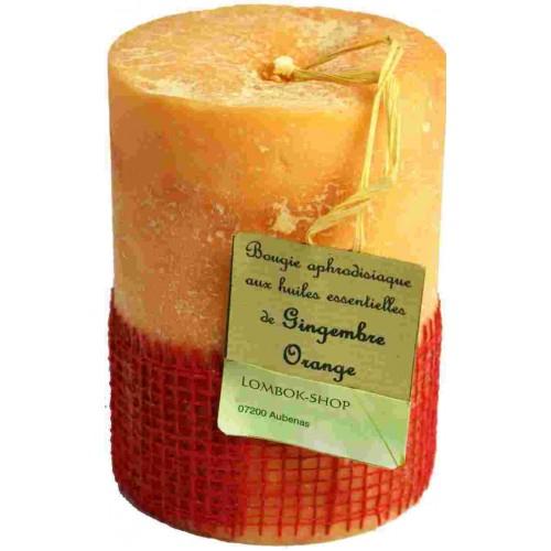 bougie gingembre orange huiles essentielles. Black Bedroom Furniture Sets. Home Design Ideas