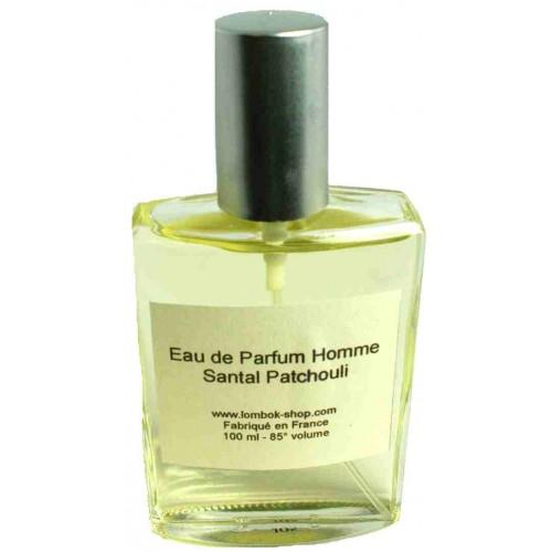 Eau de Parfum Homme Santal patchouli