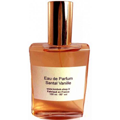 Eau de parfum Santal vanille 100 ml