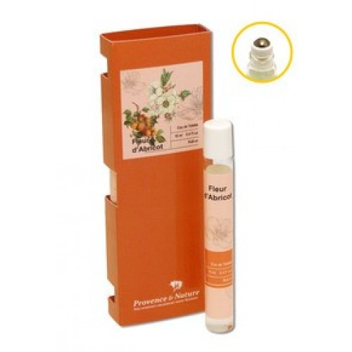 Parfum fleur d'abricot roll-on