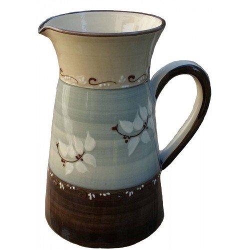 Pichet gris céramique Vallauris GM